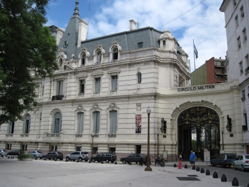 "Argentina's Historic Military Officer's Club - the ""Circulo Militar"""