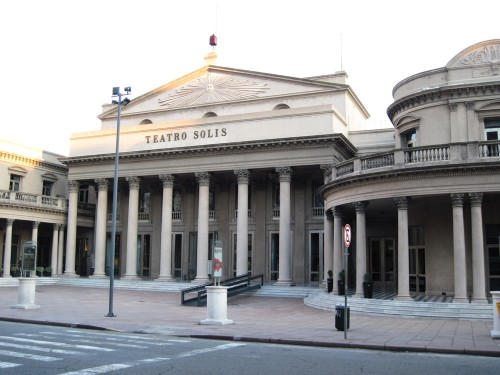 The Solis Theater or Teatro Solis as they call it. A real marvel inside. Guided tours $1 USD.