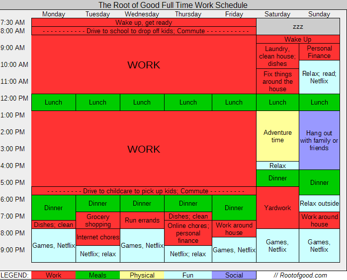 full-time-work-schedule