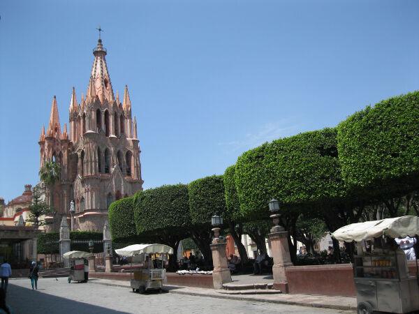 The Parroquia San Miguel Arcangel