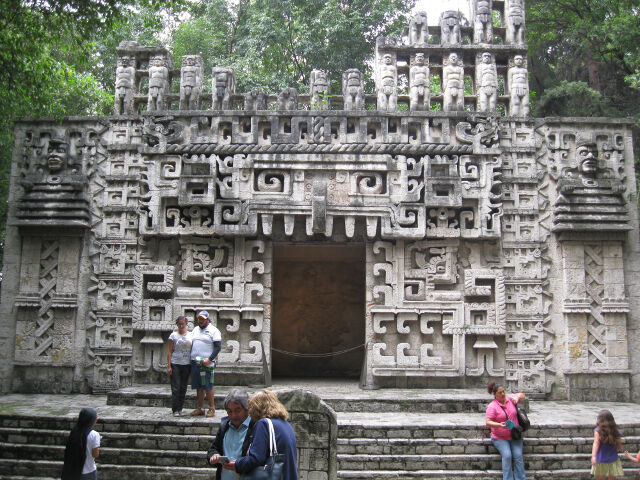 Mayan Temple, National Museum of Anthropology, Mexico City