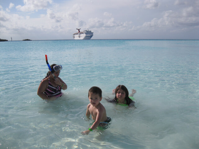 The water is still clear, the sun warm, and the breeze calming no matter how much you pay for the cruise.