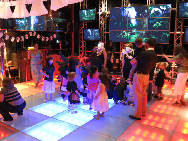 Disco party for the kids