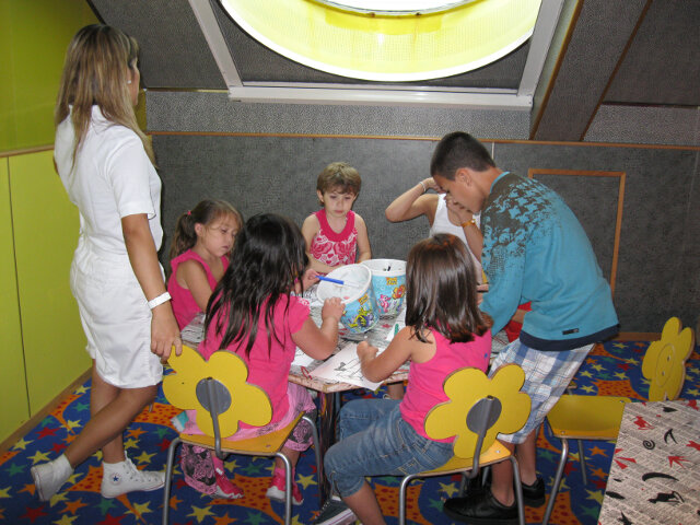 Our children love the kids clubs on the cruise