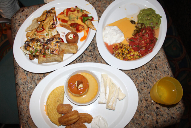 More Mexican food (from the cruise). Here's a whole post on cruise food!