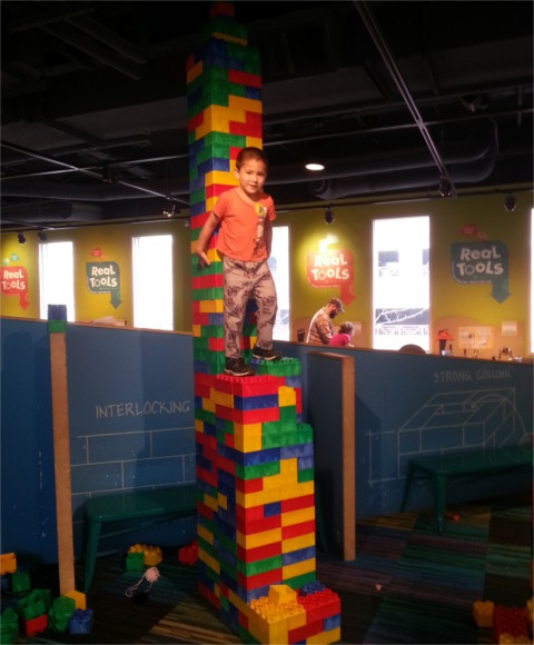 Or things to build then climb on?