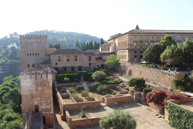 La Alhambra. Amazing to see in person. Can't believe it took us 6 hours to see it all, but it's a massive facility.