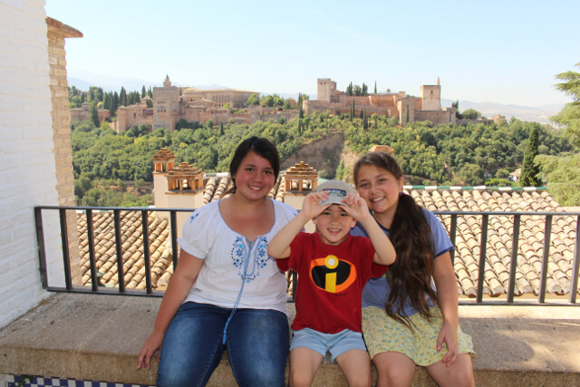 Vacation is underway. La Alhambra in Granada, Spain.