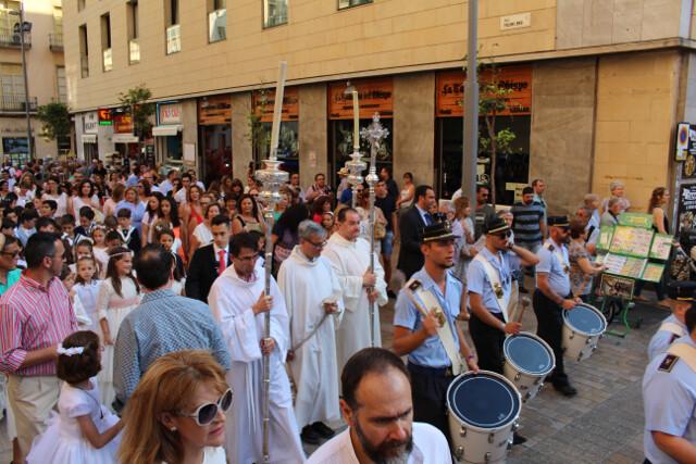 Random parade in Malaga? Free.