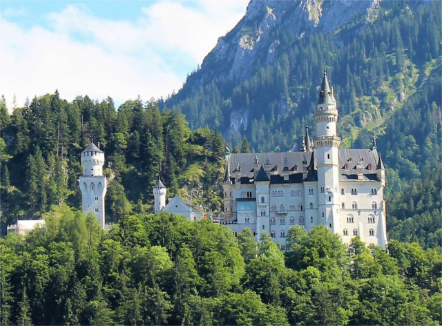 One of the main reasons to rent a car in Germany - our visit to Neuschwanstein Castle about 2 hours south of Munich. We decided to skip the interior tour after seeing many other castles and spent the time hiking up to a bridge over a waterfall instead. We ended up touring the castle courtyard for free, so didn't miss much.
