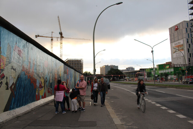 Once a symbol of divisiveness, this segment of the wall acts as a canvas for artists.